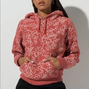 NWT Champion reverse weave floral hoodie